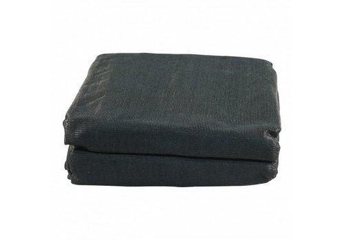 Aanhangernet fijnmazig 400x230cm zwart