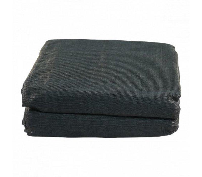 Aanhangernet fijnmazig 450x250cm zwart