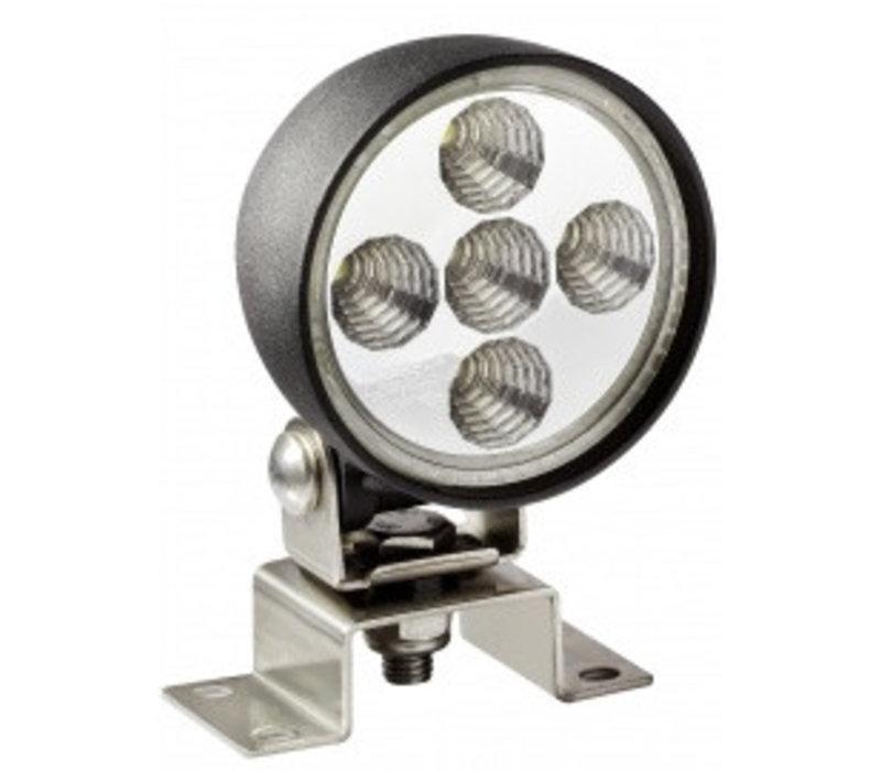 ASPÖCK Werklamp LED rond, 2,5 m open kabeleind