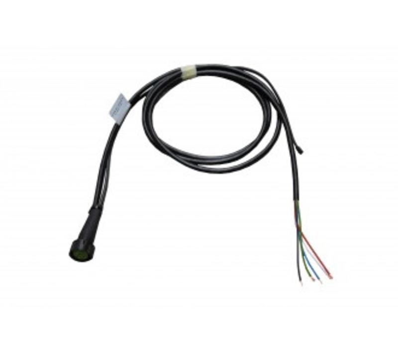 ASPÖCK kabeleind 2 M + DC rechts 2m, aftakking DC 0,5 m