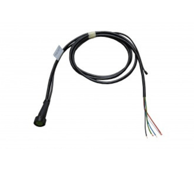 ASPÖCK kabeleind 2 M + DC links 2m, aftakking DC 0,5 m