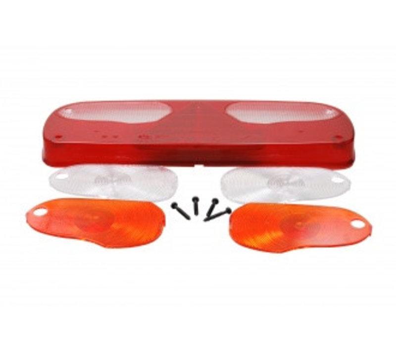 ASPÖCK Ecopoint glas met driehoekreflector