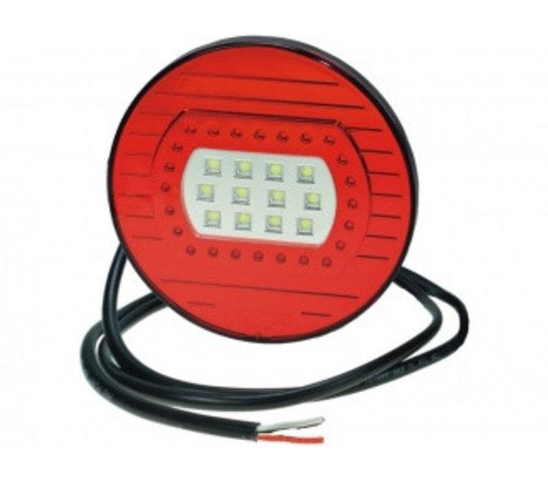 PROPLAST LED achterlicht 12/24 V, Kabel 1,8 m