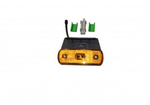 HOWK Zijmarkeerlamp LED, 12/24 V, geel 104,3 x 36,3 x 19,6 mm