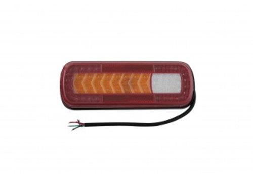 HOWK Achterlicht LED met dynamische knipperlicht