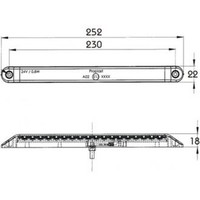 PROPLAST LED-positielamp