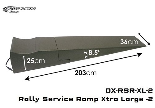 Race Ramp Rally Service Ramp XLarge (set of 2)