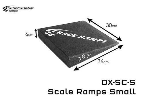 Race Ramp Scale Ramp Small (set of 4)