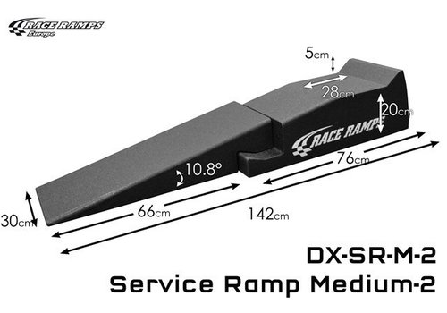 Race Ramp Service Ramp Medium (set of 2, 4 pcs total)