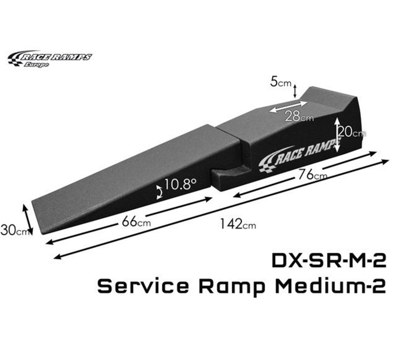 Service Ramp Medium (set of 2, 4 pcs total)