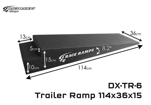 Race Ramp Trailer Ramps TR-6: 114x36x15 (set of 2)