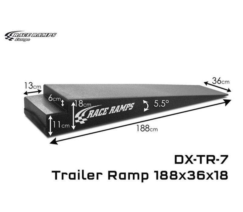 Trailer Ramps TR-7: 188x36x18 (set of 2)