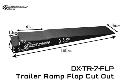 Race Ramp Trailer Ramp Flap Cut Out: 188x36x15 (set of 2)
