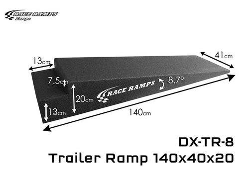 Race Ramp Trailer Ramps TR-8: 140x40x20 (set of 2)