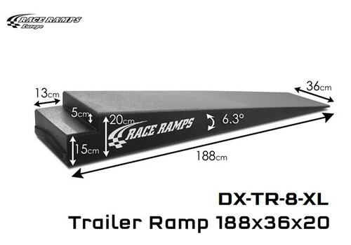 Race Ramp Trailer Ramps TR-8 XL: 188x36x20 (set of 2)