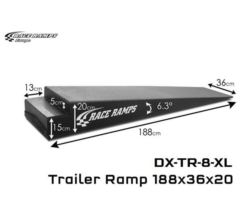Trailer Ramps TR-8 XL: 188x36x20 (set of 2)