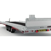 Brian James T6 Auto transporter 550x207cm ( 3500kg ) met oprijplaten