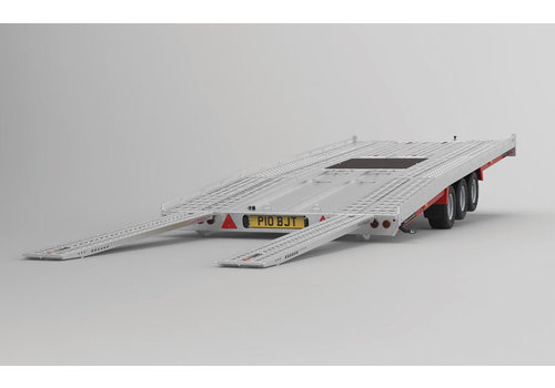 Brian James Trailers Brian James T6 Auto transporter 550x207cm ( 3500kg ) met oprijplaten