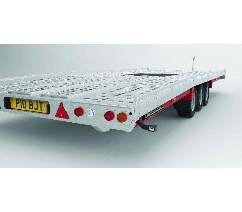 Brian James T4 Auto transporter 550x222cm ( 3500kg ) met oprijplaten