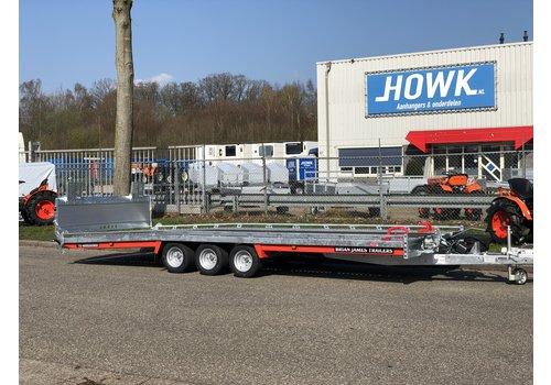Brian James Trailers Brian James T6 Auto transporter 550x207cm ( 3500kg ) met oprijklep