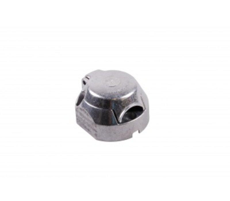 Stekkerdoos 7+1-polig metaal