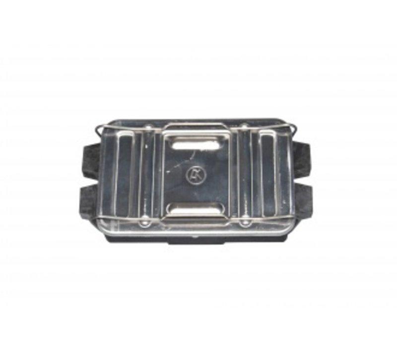 Kabelverbindingsdoos 8-polig met aluminium deksel