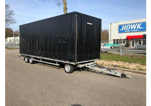 Henra Gebruikte Henra schamelwagen met huif 606x200x210cm