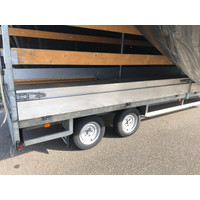 Gebruikte Henra schamelwagen met huif 606x200x210cm