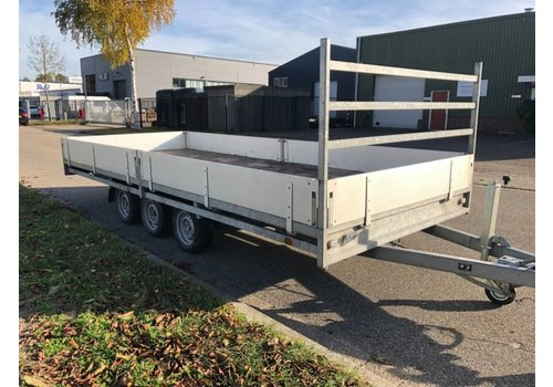 Hulco Aanhangwagens Gebruikte Hulco Medax-3 502x203 3500kg Tridem ( 3500kg )