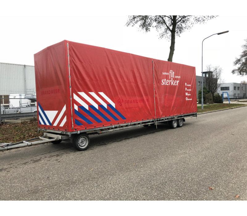 Gebruikte huif t.b.v. Hulco Schamelwagen 811x211x252cm