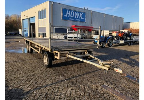 Anssems aanhangwagens Gebruikte schamelwagen 550x220cm ( 3500kg )