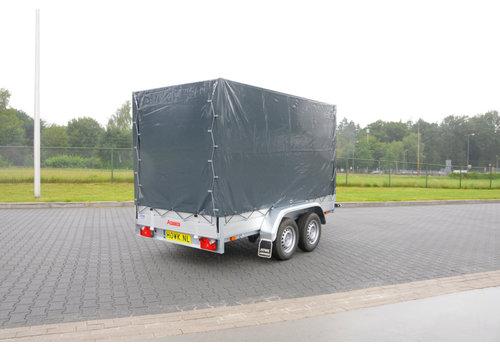Anssems aanhangwagens Nieuwe Anssems BSX 2500 met huif 301x150x210cm ( 2500kg )