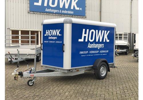 Aanhanger huren Gesloten enkelas bakwagen huren? ( 750kg - 1500kg )