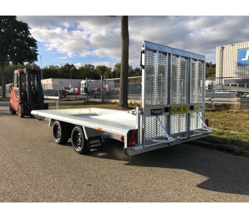 Hapert Indigo LF-2 machine transporter 3500kg met Paraboolvering