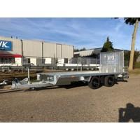 Hapert Indigo LF-2 410x164cm machine transporter 3500kg met Paraboolvering