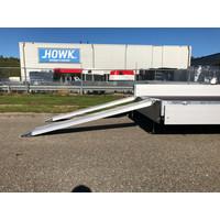 Hapert Azure H-2 plateauwagen 505x220cm 3500kg met paraboolvering