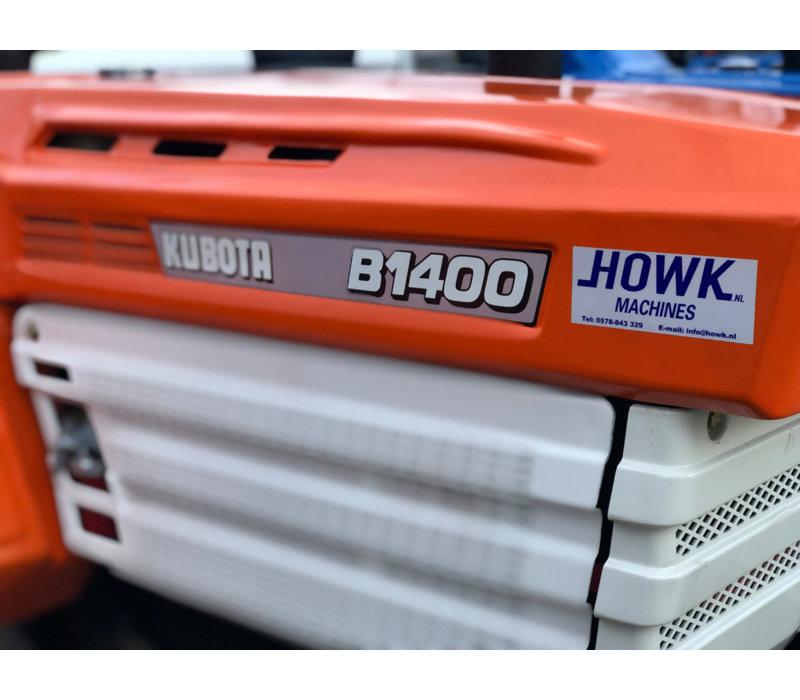 Gebruikte mini trekker Kubota B1400 4x4