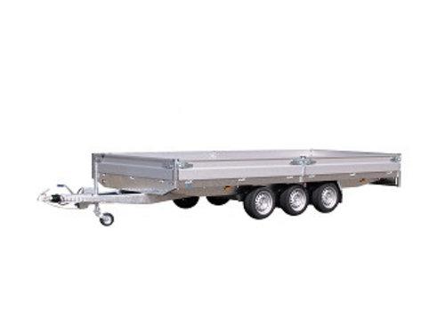 Hapert Aanhangwagens Nieuwe Hapert Azure 455x222cm ( 3500kg ) Tridem
