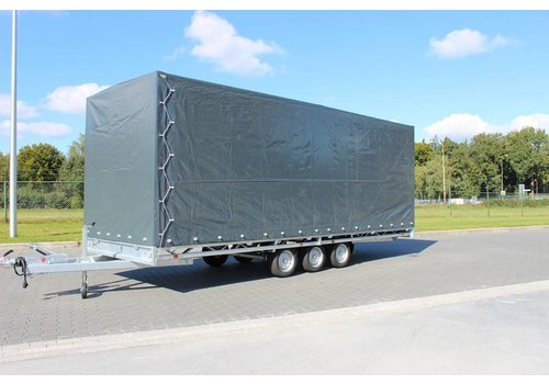Hulco Aanhangwagens Hulco Medax met huif 502x203x210cm 3500kg Tridem