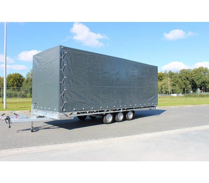 Hulco Medax met huif 502x203x210cm 3500kg Tridem