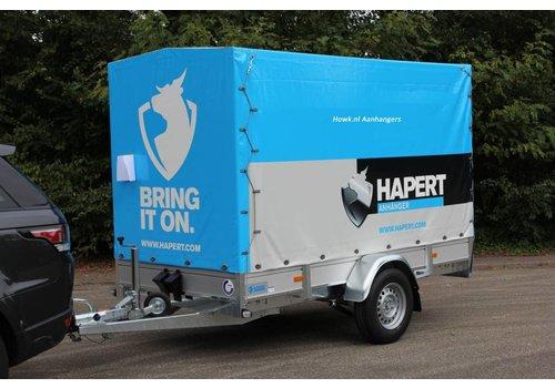 Hapert Aanhangwagens Nieuwe Hapert Azure L-1 met huif 301x130x150cm (750kg-1800kg)