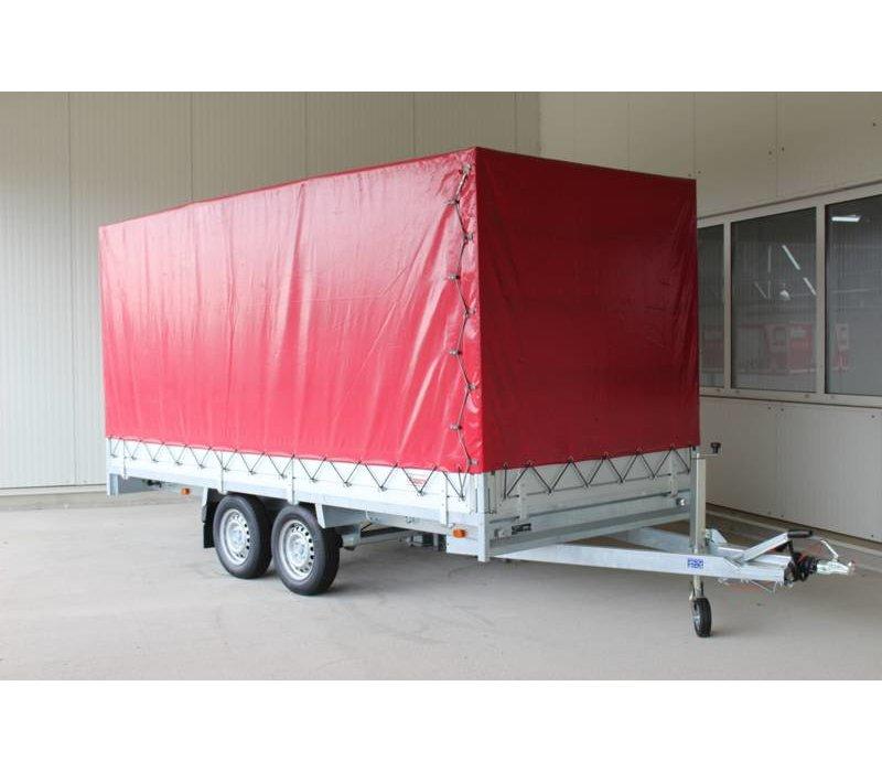 Nieuwe Anssems PSX 2000 met huif 305x158x180cm ( 2000kg )