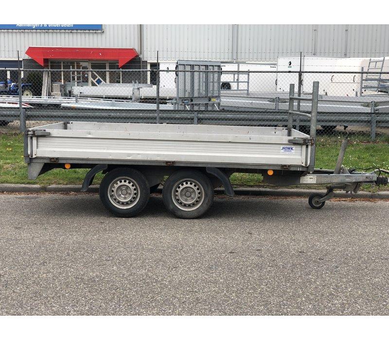 Gebruikte Bockmann plateauwagen c.a. 300x170cm ( 2000kg )