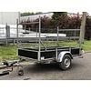 Oosterwijk Gebruikte Oosterwijk bakwagen enkelasser c.a. 250x130cm geremd