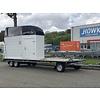 Hulco Aanhangwagens Gebruikte paardentrailer / schamelwagen 6m lang (3500kg