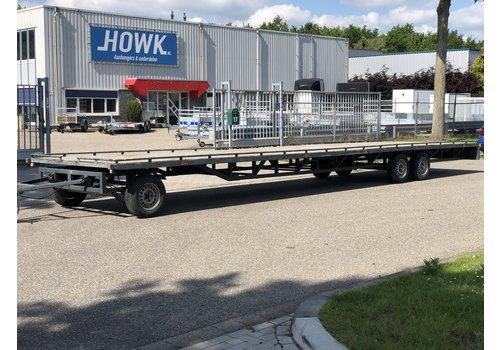 HotraRijs Gebruikte schamelwagen 10m lang (3500kg)