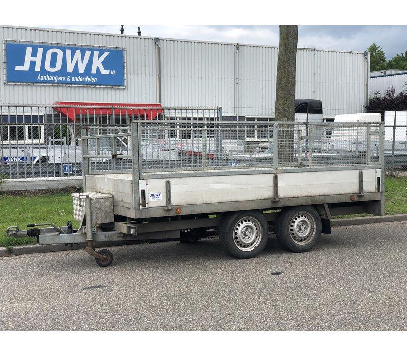 Gebruikte Sallas plateauwagen c.a. 350x180cm ( 2000kg )