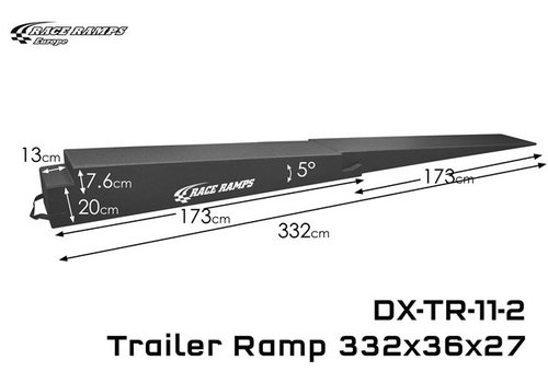Race Ramp Trailer Ramp 11-2: 332x36x27(set of 2, 4 pcs total)