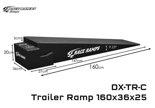 Race Ramp Trailer Ramp C: 160x36x20 (set of 2, 4 pcs total)
