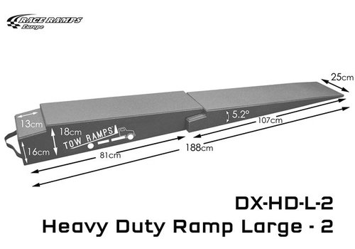 Race Ramp Trailer Ramp Heavy duty XXL: 170x36x13(set of 2)